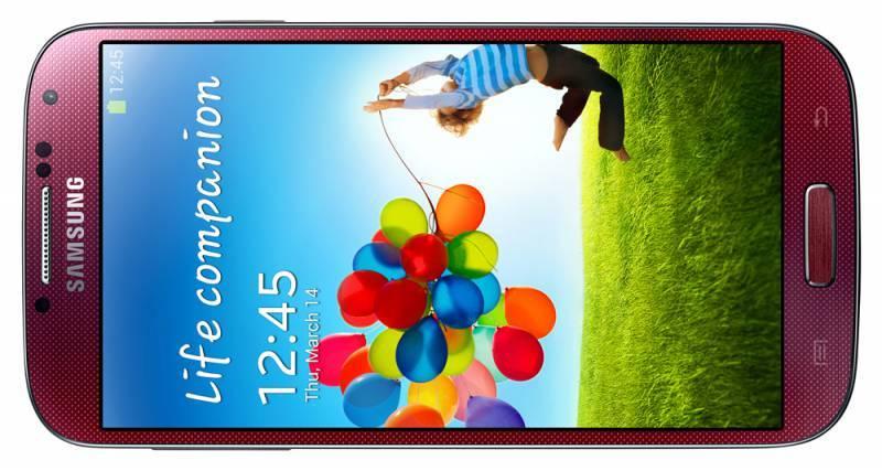 Смартфон Samsung Galaxy S4 La Fleur GT-I9500 16ГБ красный - фото 3