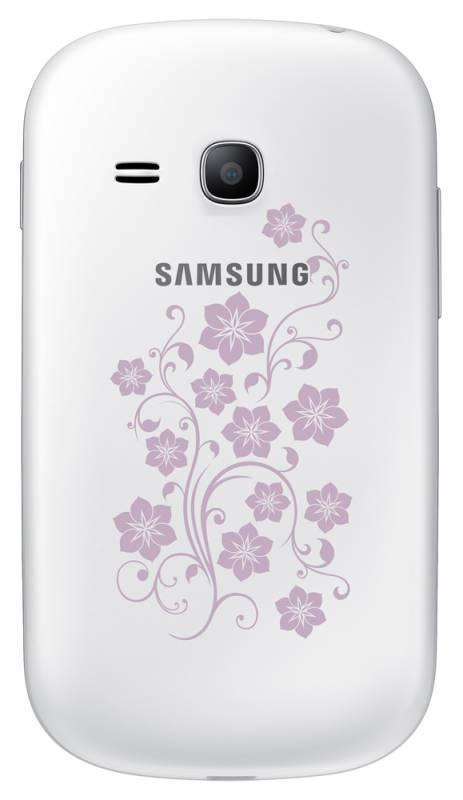Смартфон Samsung Galaxy Fame Lite La Fleur GT-S6790 4ГБ белый - фото 4