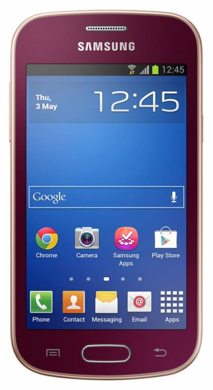 Смартфон Samsung Galaxy Trend La Fleur GT-S7390 4ГБ красный - фото 1