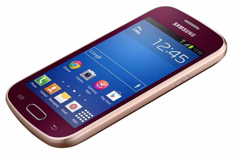 Смартфон Samsung Galaxy Trend La Fleur GT-S7390 4ГБ красный - фото 5