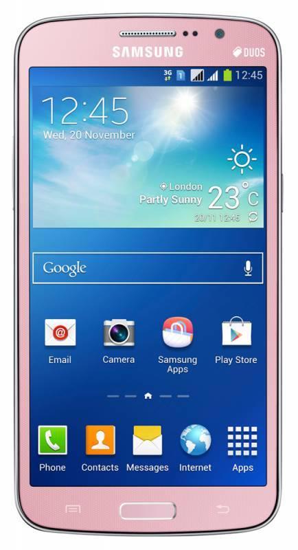 Смартфон Samsung Galaxy Grand 2 SM-G7102 8ГБ розовый - фото 1