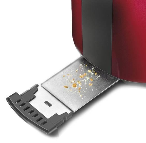 Тостер Electrolux EAT7100R красный - фото 3