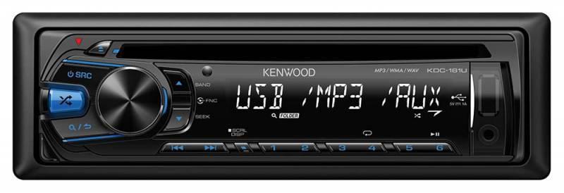 Автомагнитола Kenwood KDC-161UB - фото 1