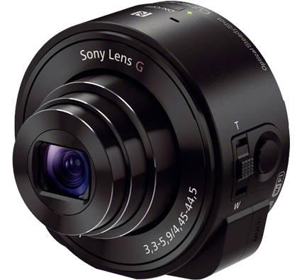 Фотоаппарат Sony DSC-QX10 черный - фото 1