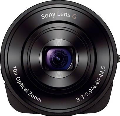 Фотоаппарат Sony DSC-QX10 черный - фото 4