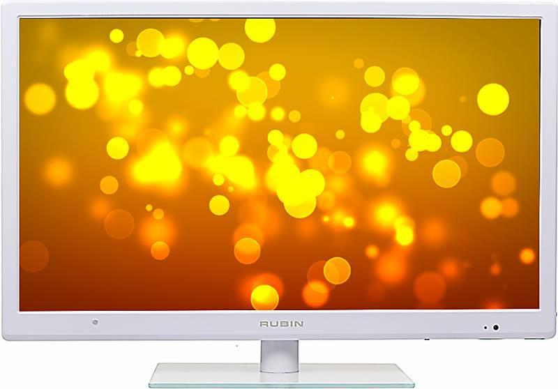 """Телевизор LED 24"""" Rubin RB-24SE5WH белый - фото 2"""