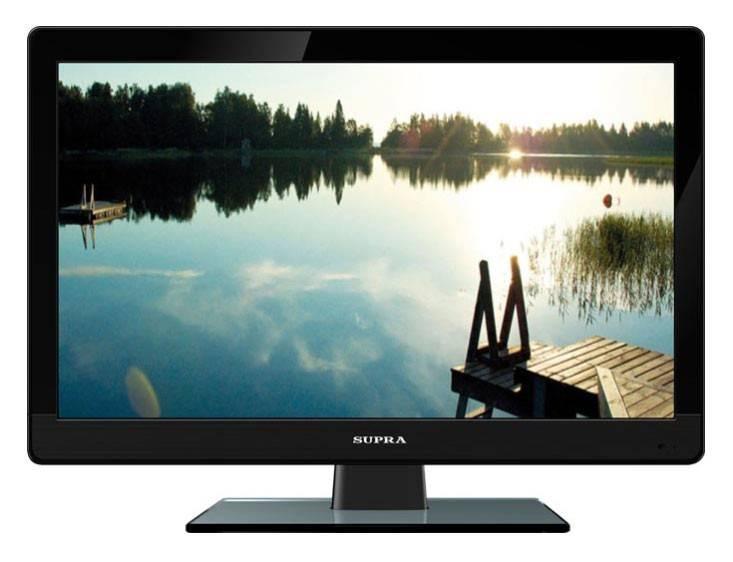 """Телевизор LED 21.5"""" Supra STV-LC22T410WL черный - фото 1"""