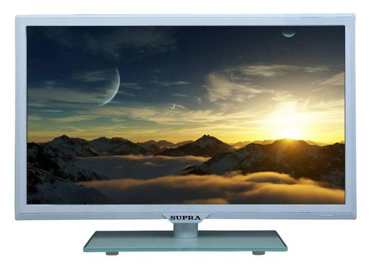 """Телевизор LED 23.6"""" Supra STV-LC24811FL белый - фото 1"""