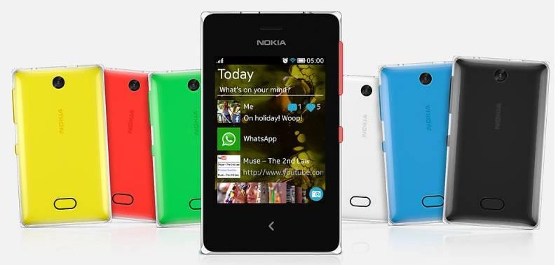 Мобильный телефон Nokia Asha 500 Dual Sim черный - фото 4
