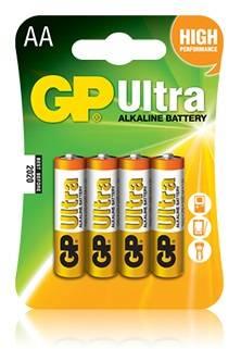 Батарея AA GP Ultra Alkaline 15AU LR6 (4шт)