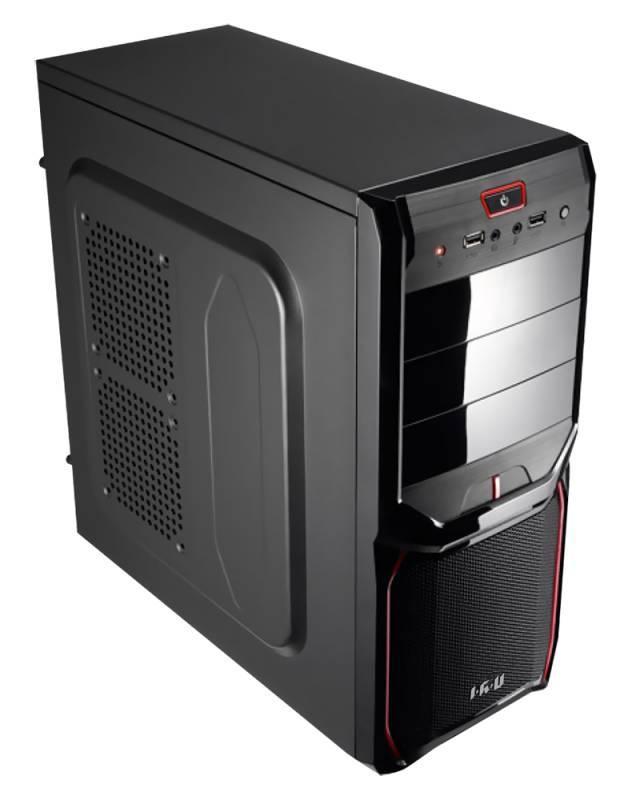 Системный блок IRU Home 720 черный - фото 1