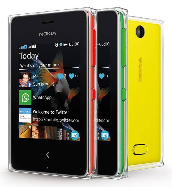 Мобильный телефон Nokia Asha 500 Dual Sim красный - фото 4