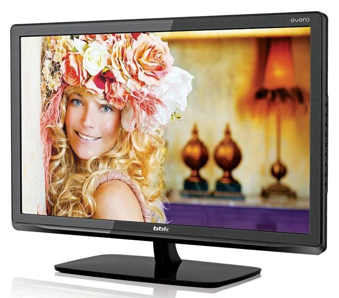 """Телевизор LED 24"""" BBK Evero LEM2484DT2 черный - фото 2"""