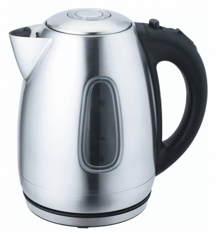 Чайник электрический Supra KES-1737 серебристый - фото 1