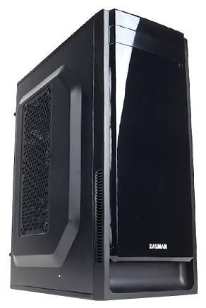 Корпус mATX Zalman ZM-T2 Plus черный (ZM-T2+) - фото 1