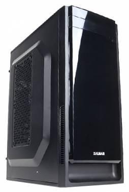 Корпус mATX Zalman ZM-T2 Plus черный (ZM-T2+)