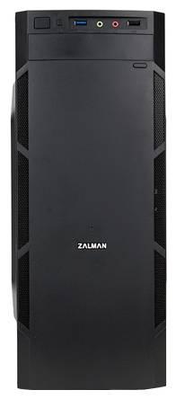 Корпус mATX Zalman ZM-T1 Plus черный (ZM-T1+) - фото 2