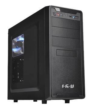 Системный блок IRU Power 720 черный - фото 1