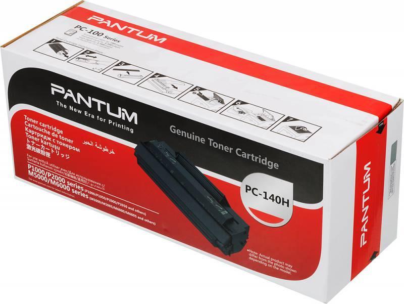 Тонер Картридж Pantum PC-140H черный - фото 1