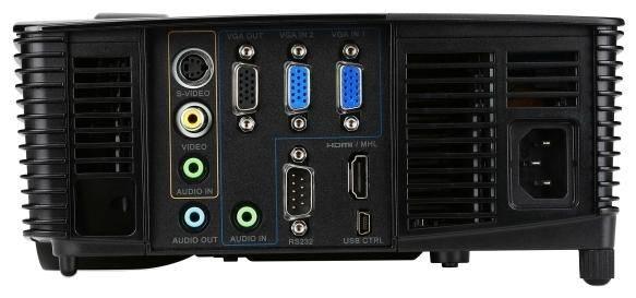 Проектор Acer P1383W черный - фото 3