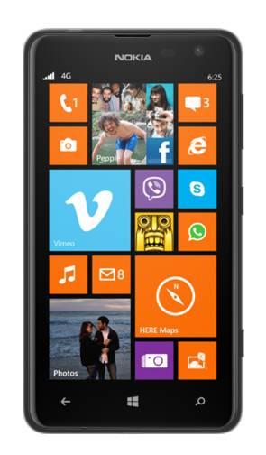Смартфон Nokia Lumia 625 3G черный - фото 1