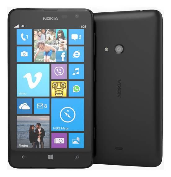Смартфон Nokia Lumia 625 3G черный - фото 5