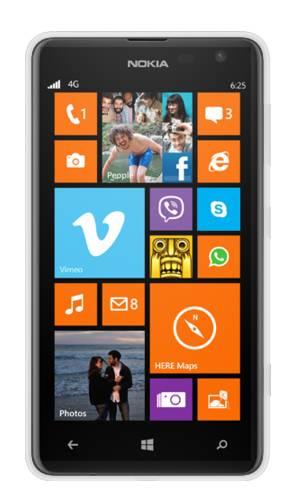 Смартфон Nokia Lumia 625 3G белый - фото 1