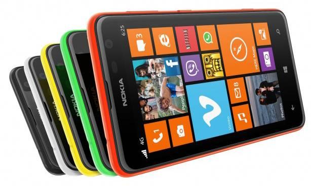Смартфон Nokia Lumia 625 3G белый - фото 5