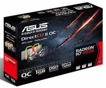 Видеокарта Asus Radeon R7 260X 1024 МБ