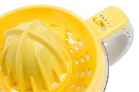Соковыжималка цитрусовая Rolsen RCJ-255 белый/желтый - фото 3