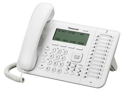 Системный телефон цифровой IP Panasonic KX-NT546RU - фото 1