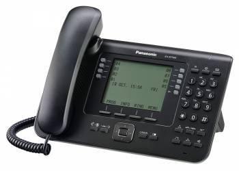 Системный телефон цифровой IP Panasonic KX-NT560RU белый