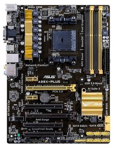 Материнская плата Soc-FM2+ Asus A88X-PLUS ATX - фото 1