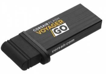 Флеш диск Corsair Voyager GO 16ГБ USB3.0 черный (CMFVG-16GB-EU)