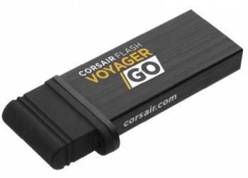 Флеш диск Corsair Voyager GO 32ГБ USB3.0 черный