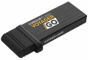 Флеш диск Corsair Voyager GO 64ГБ USB3.0 черный