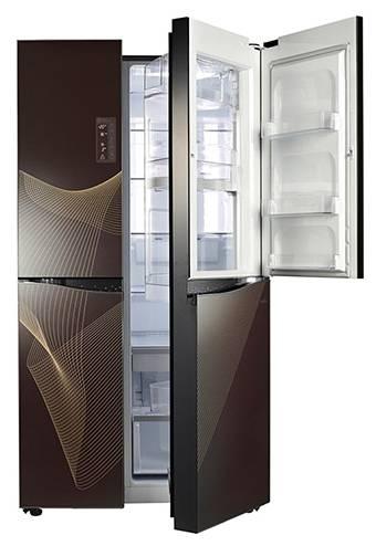 Холодильник LG GR-M257SGKR черный - фото 3