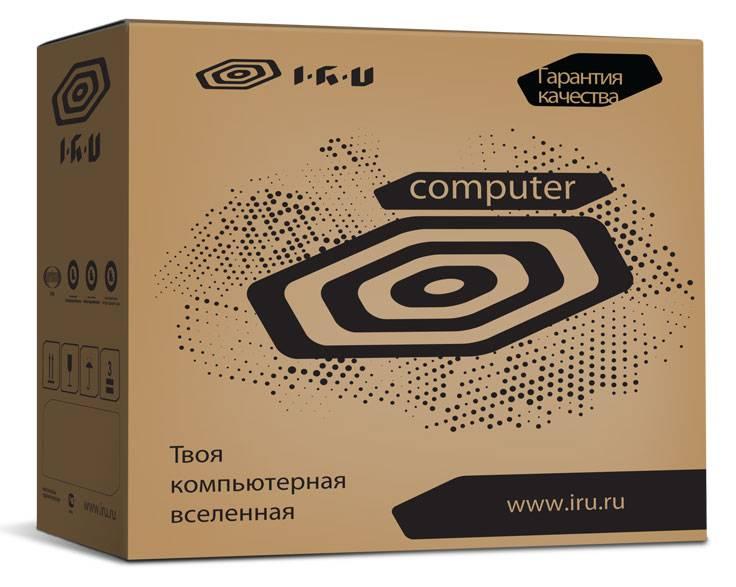 Системный блок IRU Corp 535 черный - фото 5