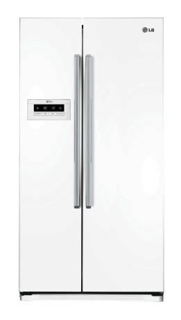 Холодильник LG GC-B207GVQV белый - фото 1