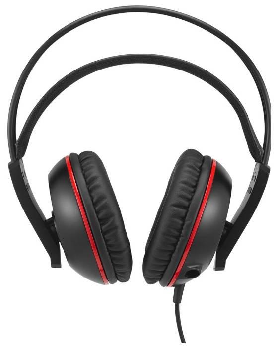 Наушники с микрофоном Asus Cerberus черный/красный - фото 2
