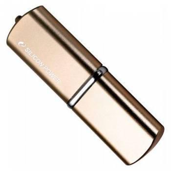 Флеш диск Silicon Power LuxMini 720 64ГБ USB2.0 бронзовый