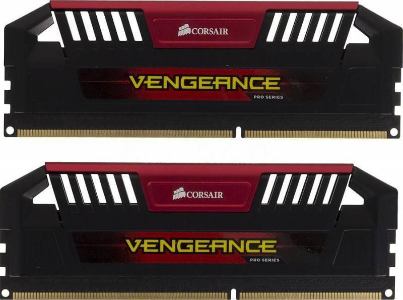 Модуль памяти DIMM DDR3 2x4Gb Corsair CMY8GX3M2A2133C11R - фото 1