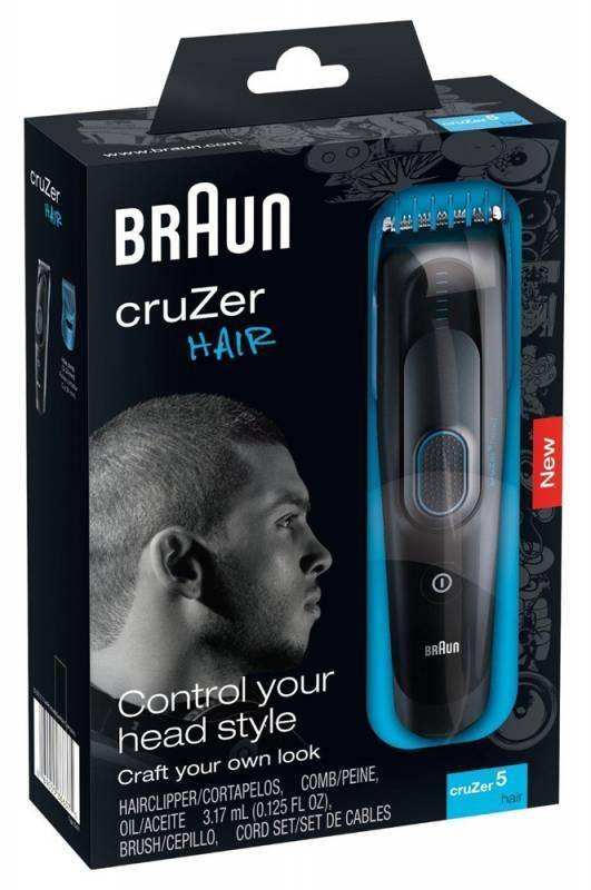 Машинка для стрижки Braun Cruzer5 Head черный - фото 3