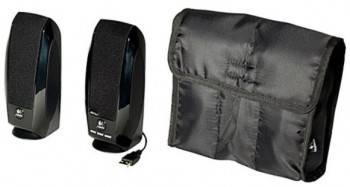 Акустическая система 2.0 Logitech S150 черный
