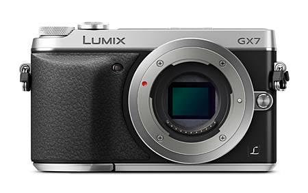 Фотоаппарат Panasonic Lumix DMC-GX7 (DMC-GX7CEE-S) kit серебристый - фото 1