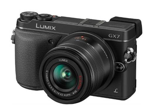 Фотоаппарат Panasonic Lumix DMC-GX7 (DMC-GX7KEE-K) kit черный - фото 1
