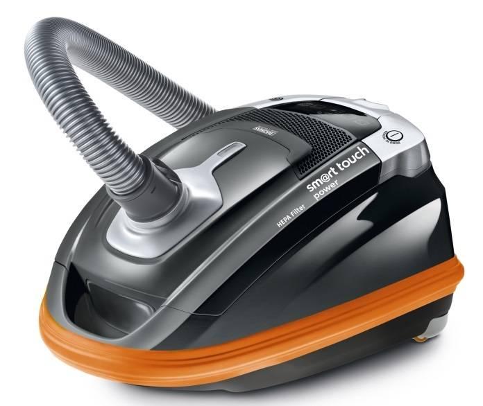 Пылесос Thomas SmartTouch Power черный/оранжевый - фото 1