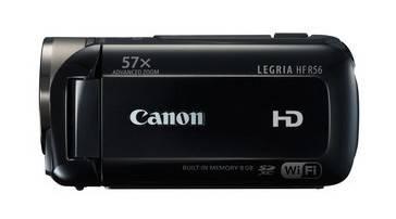 Видеокамера Canon LEGRIA HF R56 черный - фото 2