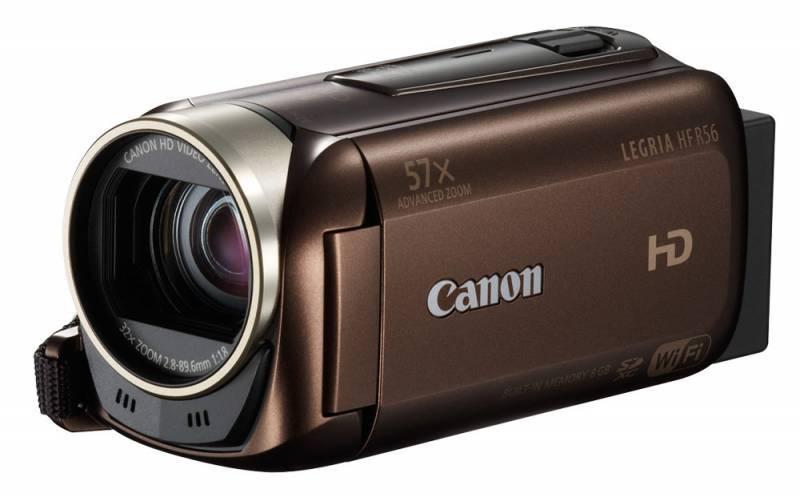 Видеокамера Canon LEGRIA HF R56 коричневый - фото 1