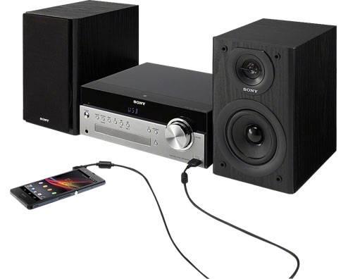Микросистема Sony CMT-SBT100 черный - фото 3
